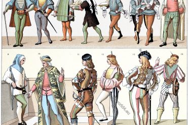 Italy, Civilv, costumes, Renaissance, Middle ages, military, dress, nobility
