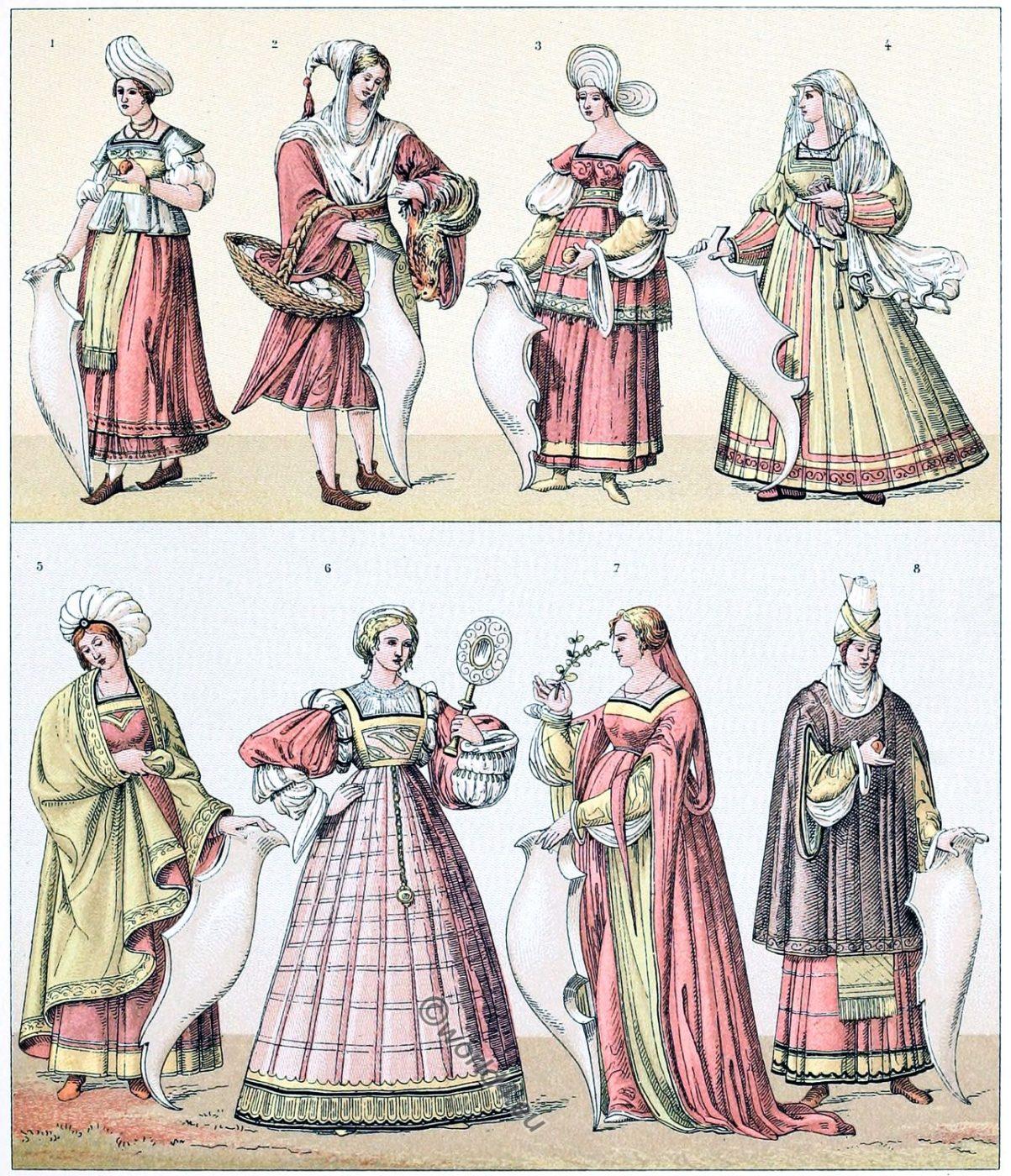 Italy, Women's, dresses,  Renaissance, Balzo,