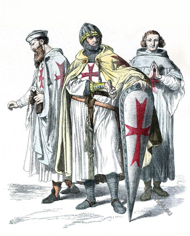 Templars, Knights, Midldle ages, Templar, Armor,