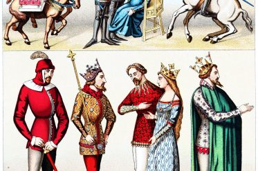 Cotte-hardie, pourpoint, Litter, Knights, squires, Middle ages, clothing, costumes, armour,
