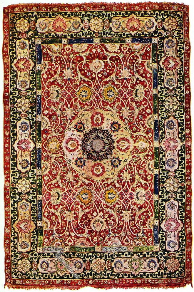 Oriental, antique, Persian, rug