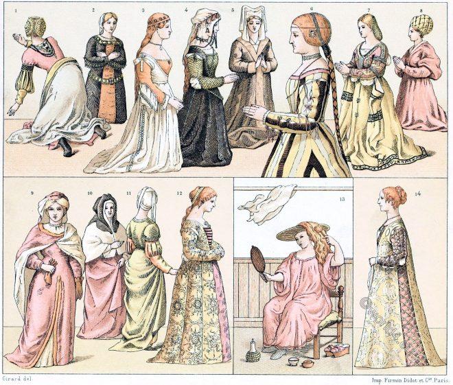 Renaissance, Fashion, Italian, fashion, costumes