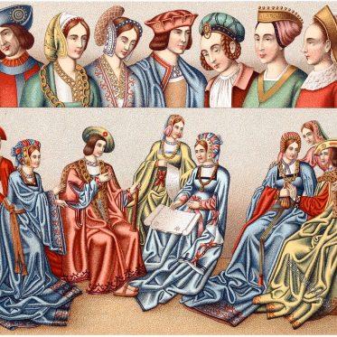 Fashion, Middle ages, Headdresses, Renaissance, Clothing, dress, costumes,