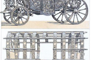 Carosses, carriages, coaches, Baroque, Transportation,