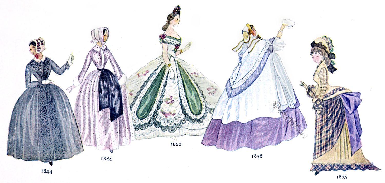 hoop, skirt, crinoline, fashion,
