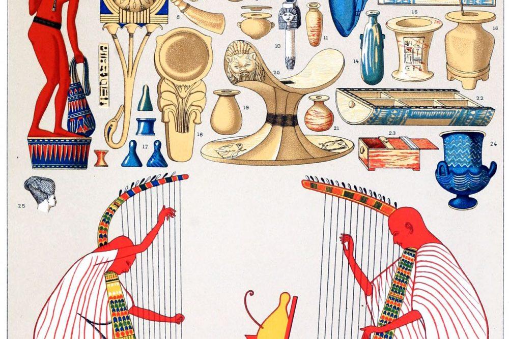 Egyptian, household, appliances, Priestly, clothing, Schenti, Kalasiris