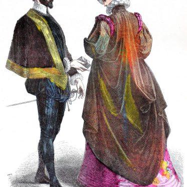 French, court, costumes,, spanish, fashion, renaissance, baroque