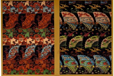 Rich, Luxurious, Silk, Fabrics, Japan, ornamental, arts