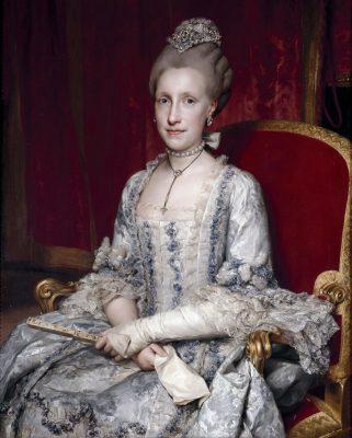 María, Ludovica, Empress, Queen, Spain, Rococo, Nobility