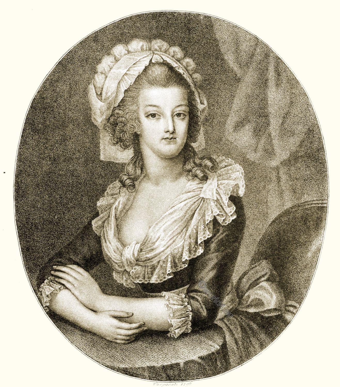 Marie Antoinette, Posthumous, portrait , Porporati ,