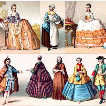 France, Caraco, bourgeoisie, Costumes, Fashion, Rococo,