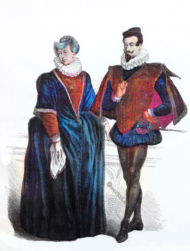 German, aristocracy, Renaissance, fashion, Spanish style, court, dress