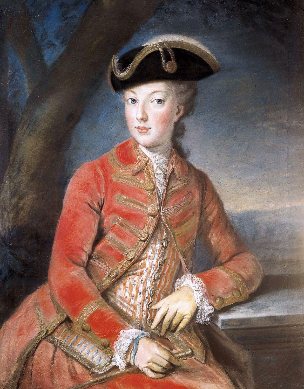 Queen, Marie Antoinette, hunting dress, Kreutzinger, Rococo