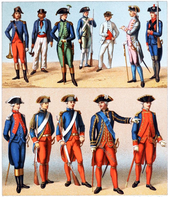 Royal, Republican, Navy, uniforms, France, costume, military