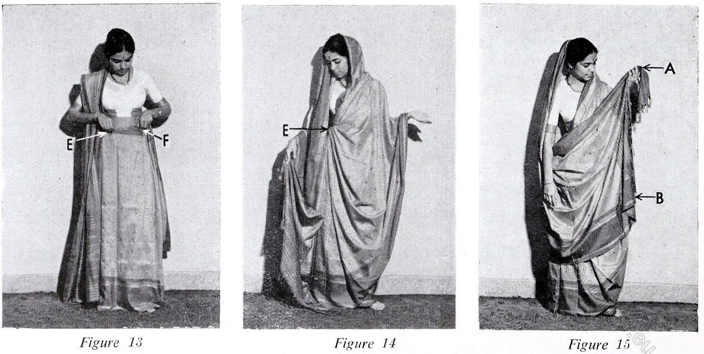 Bengali Style, Sari, India, wearing, tutorial,