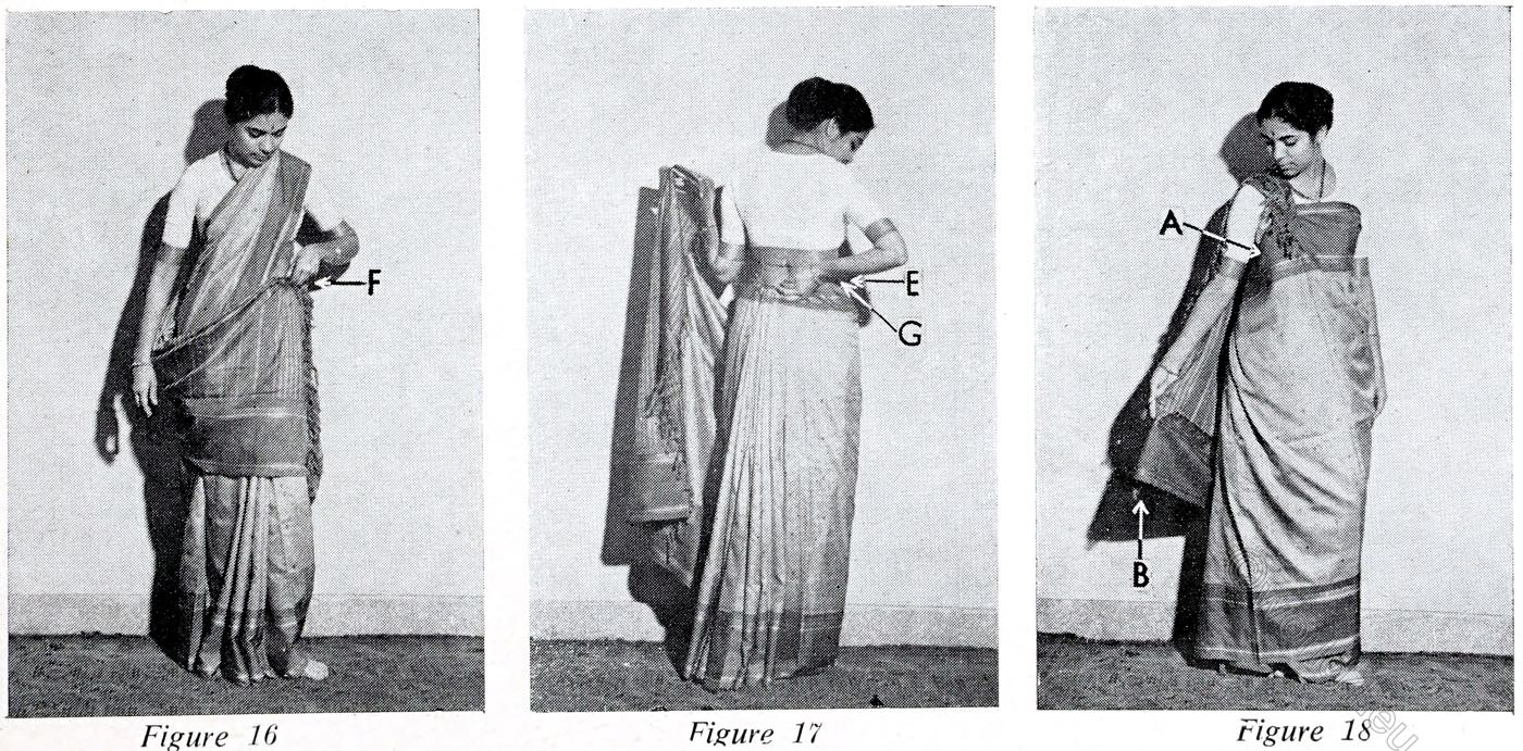 Kalakshetra, Style, Sari, India, wearing, tutorial,