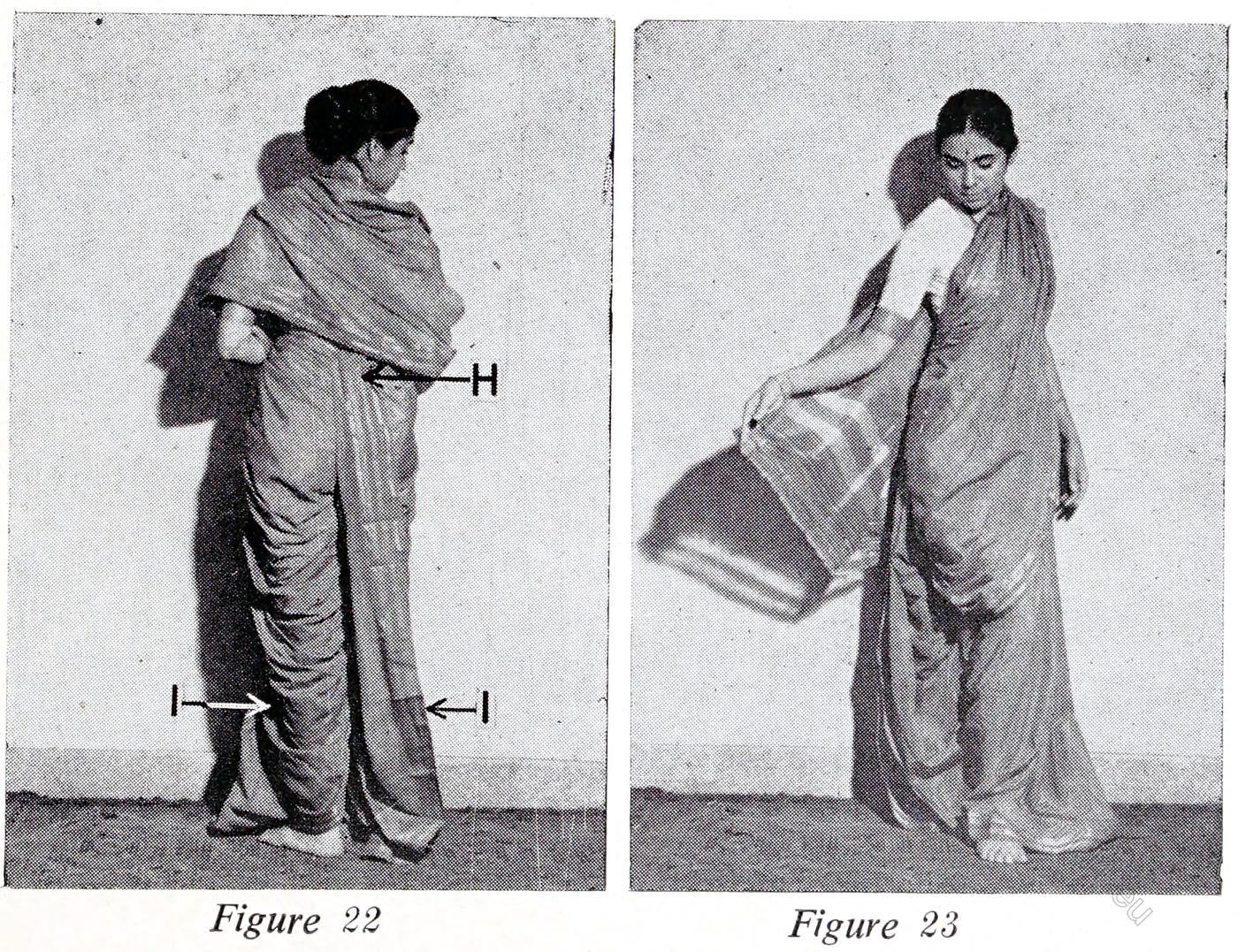 Sakacha, Maharashtrian, Style, Sari, India, wearing, tutorial,