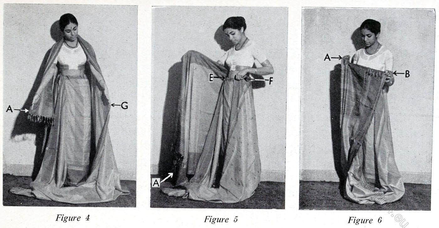Nivi, Sari, India, wearing, tutorial,