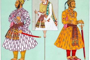 Murad Bakhsh, prince, India, dignitaries, Mughal Empire, Auguste Racinet