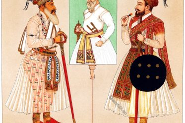 India, Rajputs, राज्पुत, Raja, dress, clothing,