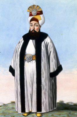 Portrait, Osman III, Sultan, Ottoman Empire,