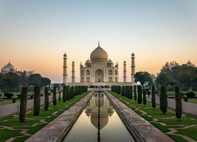 Sunrise, Taj Mahal, Agra, Uttar Pradesh, India