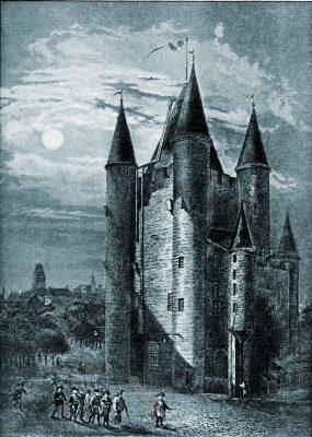 temple, tower, paris, france