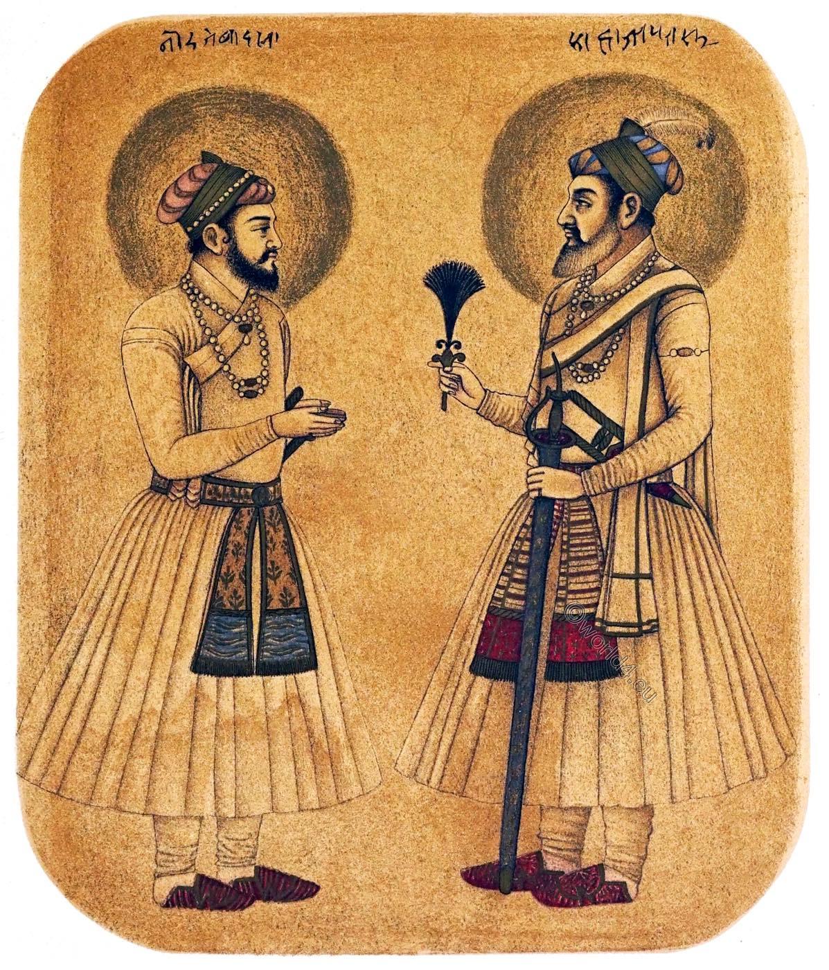Aurangzeb, Emperor, Shah, Jehan, India, Mughal,