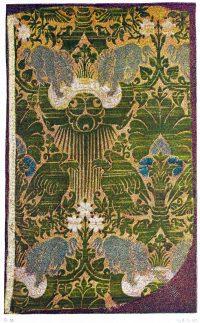 Brocade, fabrics, Italy, Renaissance,