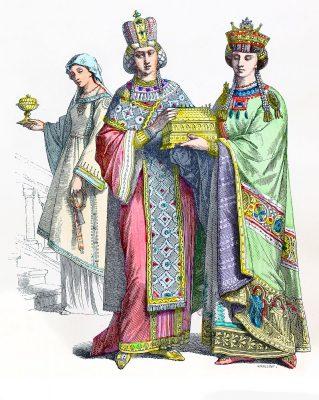 Byzantine, empress, Handmaid, princess, Costume, clothing