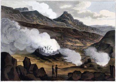 Iceland, Cauldron, Brennisteinsfjöll, Sulphur Mountains