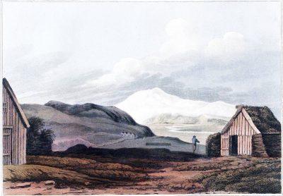 Iceland, glacier, Eyjafjallajökull, Hlíðarendi