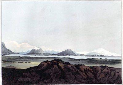 Iceland, Eyafialla, Iokul, Mount Hekla, River, Elvas,