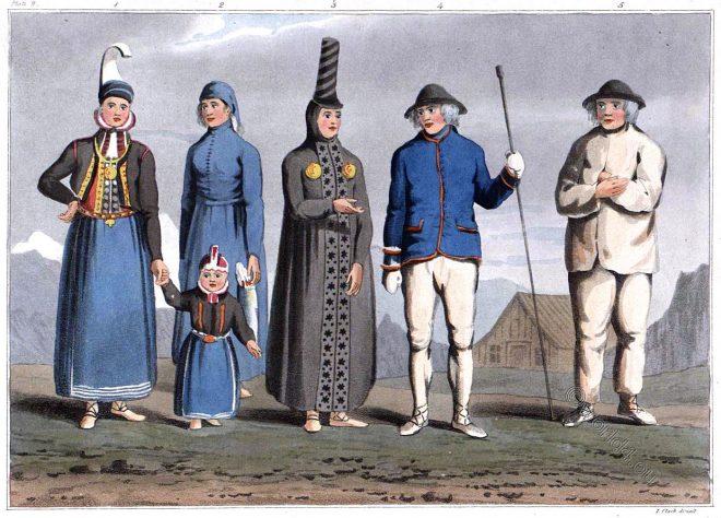 Icelandic, Costume, Iceland,