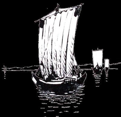 illustration, Japan, Japanese, ship