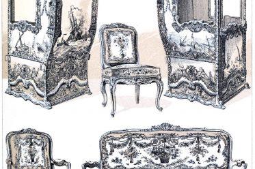palanquin, Litter, sedan chair, Rococo, furniture, armchair, Louis XVI