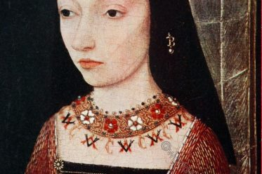 Margaret of York, Burgundy, Middle ages, portrait, hennin, Fashion