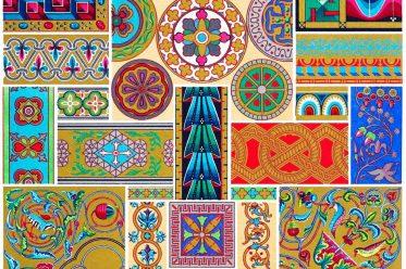 Byzantine, ornaments, Art, mural, paintings, mosaics, paintings, manuscripts