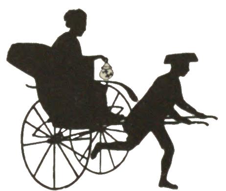 illustration, japan, japanese, riksha, Rikscha