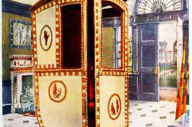 sedan, chair, rococo, palanquin, transportation, Brothers Adam, baroque, craft, carriage, howdah