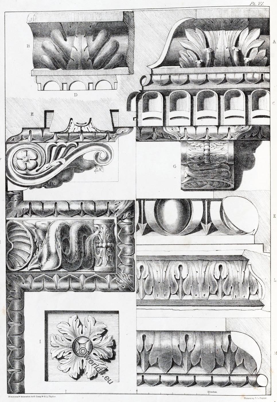 Arch, Titus, Entablature, Rome, Capital, Ornament, Decoration, Architecture, antiquities,