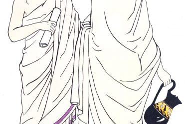 Rome, toga, Early, Roman, costume, fashion, history, antiquity,