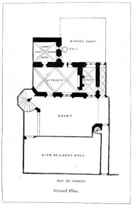 Middle Ages, Ground Plan, Hôtel, Chambellan, Dijon