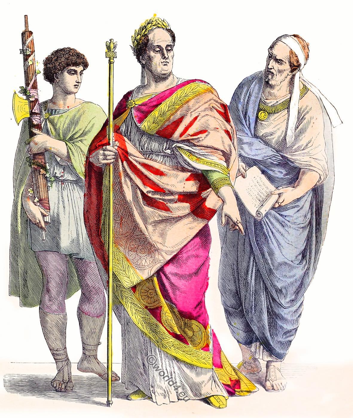 Lictor, Roman, emperor, Noble Roman, Clothing, dresses,
