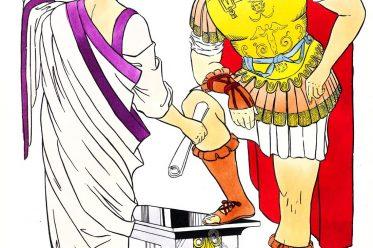 Rome, toga, senator, general, armore, Roman, Empire, costume,