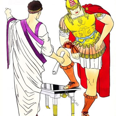 Rome, toga, senator, general, armore, Roman, Empire, costume,