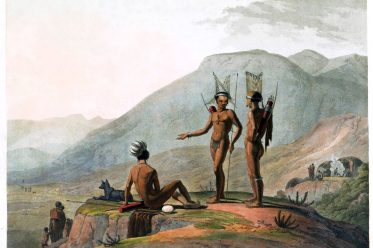 Africa, Khoikhoi, Bush-men, Samuel Daniell, Hottentots
