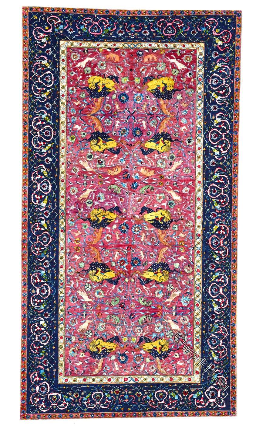 Ardabil, carpet, Mosque, Iran, Persia,