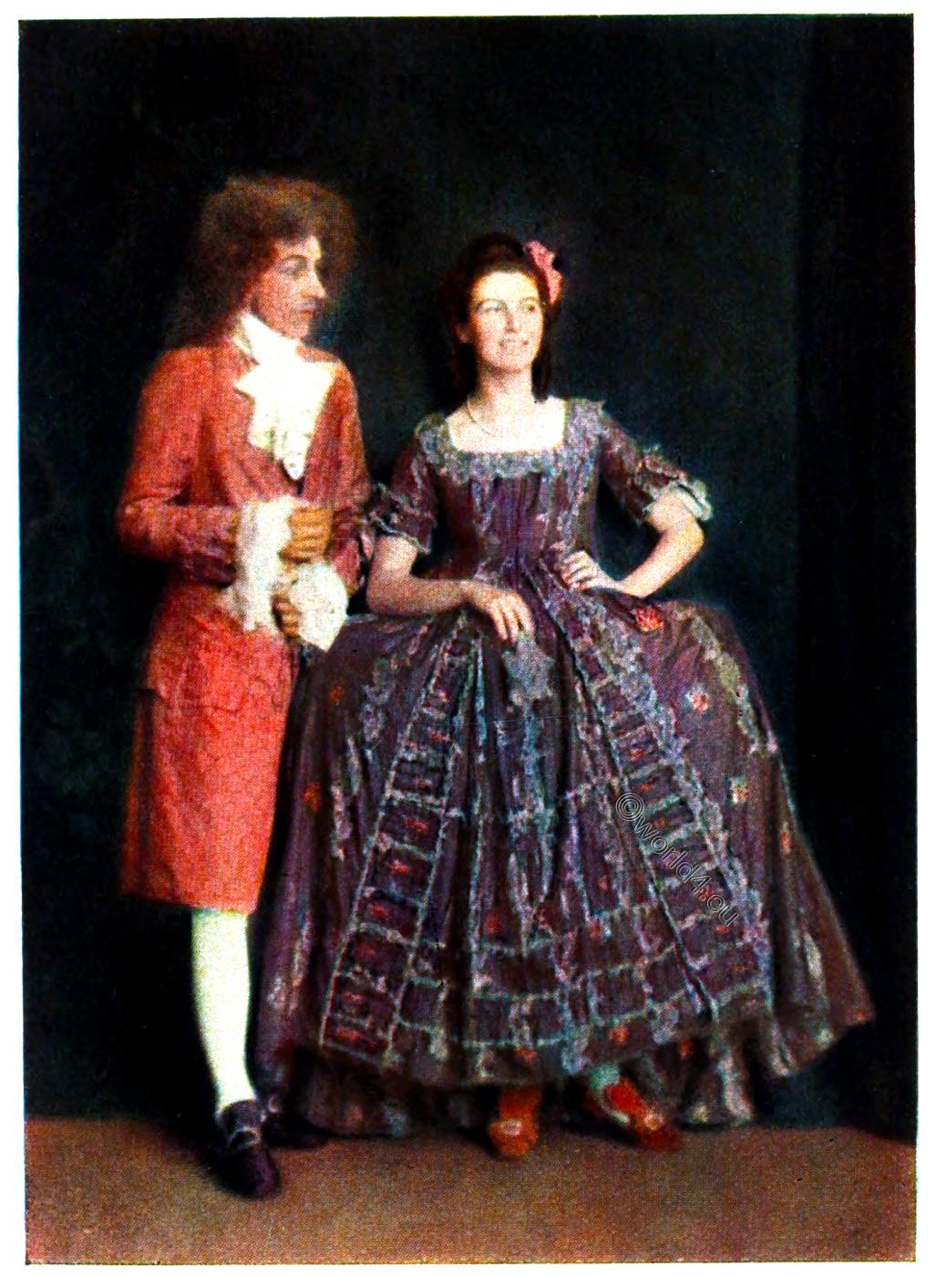 French Fashion And Costume History Of The 18th Century