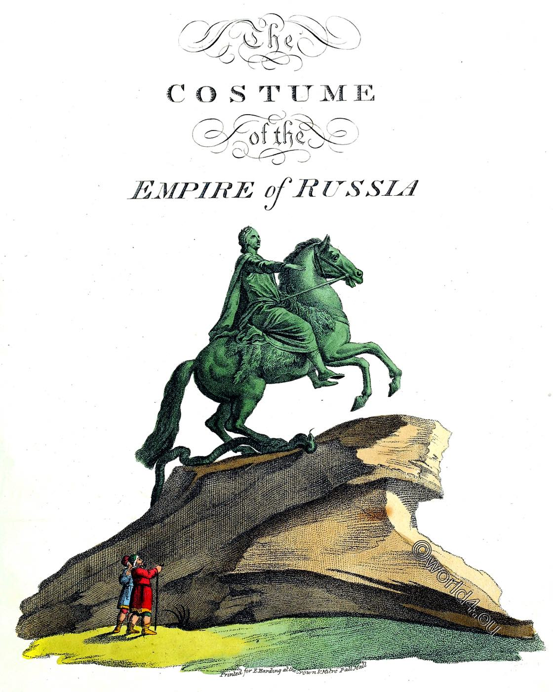 Edward Harding, Costume, Russian, empire,